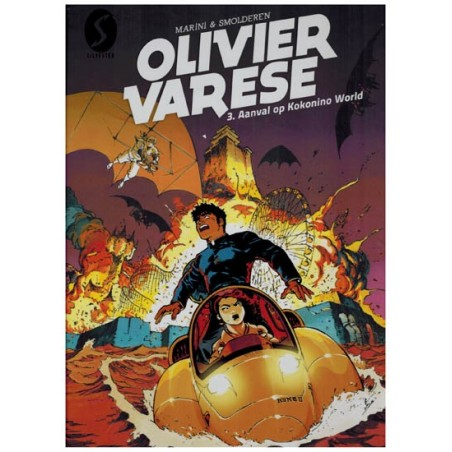 Olivier Varese 03 Aanval op Kokonino World