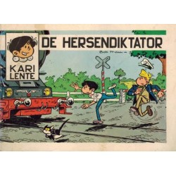 Kari Lente reclameboekej Knorr 01% De hersendiktator 1e druk 1972