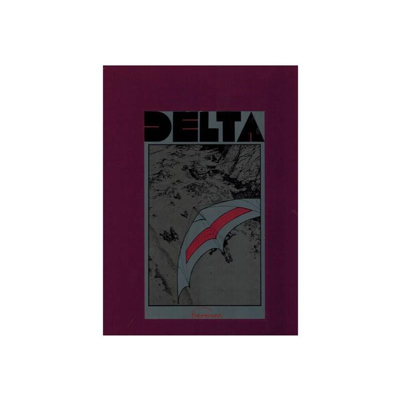 Jeremiah Luxe HC Delta 1e druk 1985 [zonder schuifdoos, vlek op schutblad]