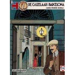 Victor Sackville reclame-album De gijzelaar van Barcelona 1e druk 1991 Fina