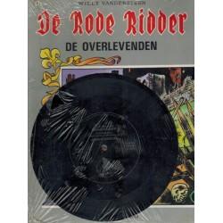 Rode Ridder 108 De overlevenden 1e druk 1984 met flexidisc single Joseph Aldenzeel