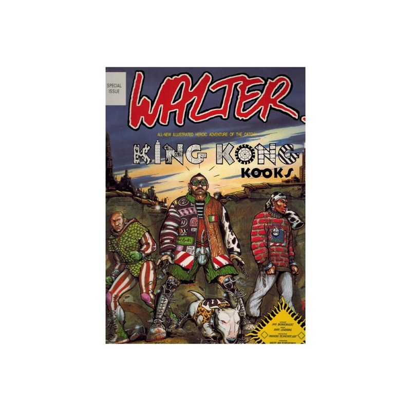 Walter Kong kong kooks 1e druk 1989