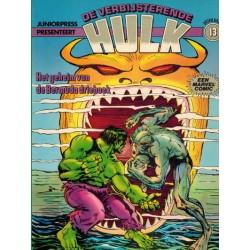 Hulk album 13 Het geheim van de Bermuda driehoek 1e druk 1981