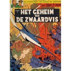 Blake & Mortimer 02 Het geheim van de Zwaardvis 02 1e druk Helmond 1970