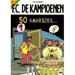 F.C. De Kampioenen 050 50 Kaarsjes herdruk