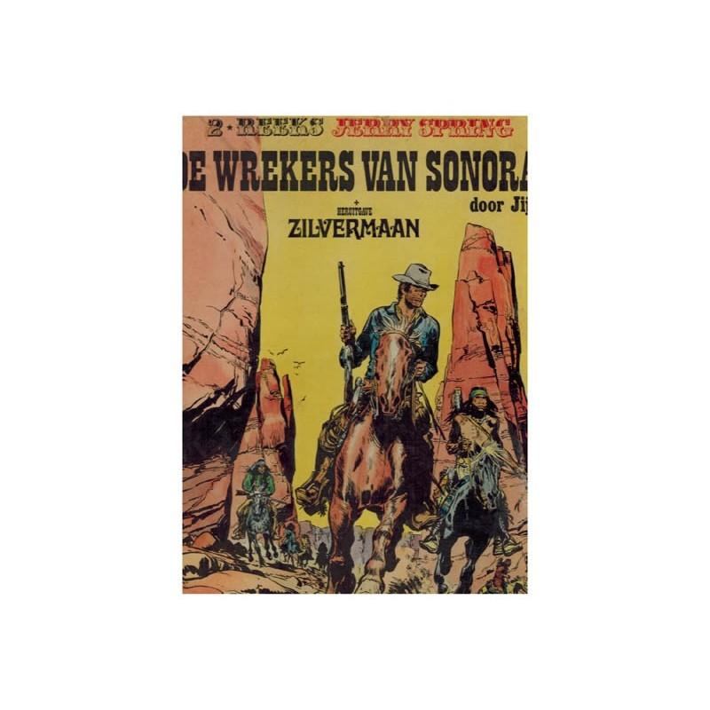 Jerry Spring Luxe HC 02% De wrekers van Sonora + Zilvermaan 1e druk 1974