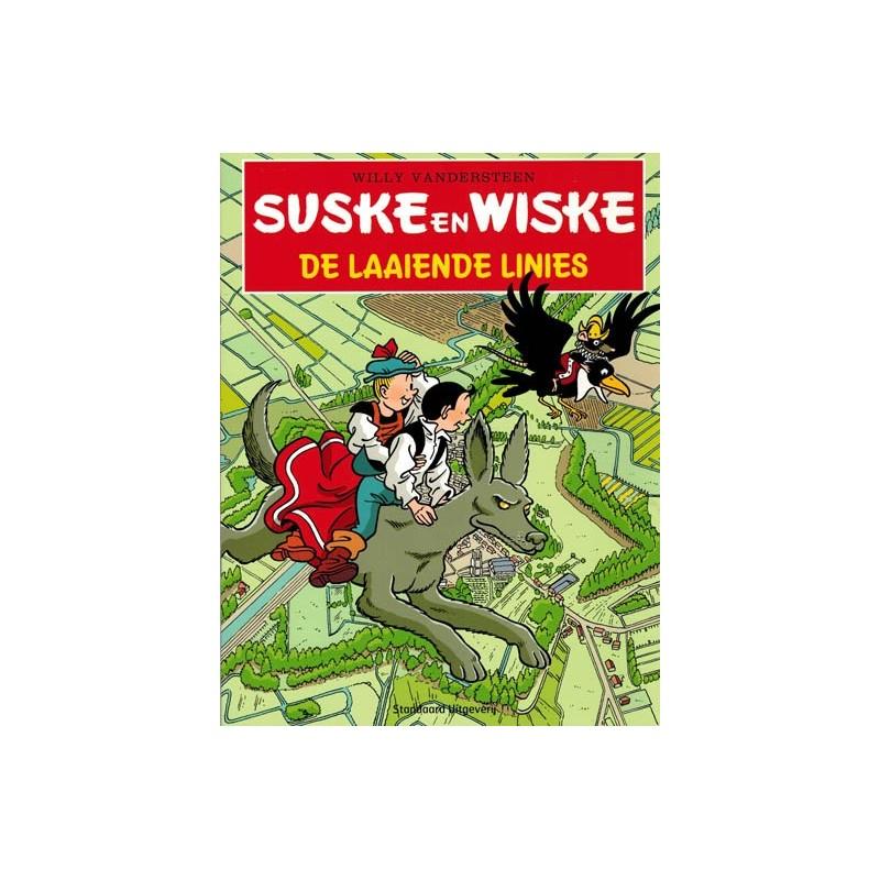 Suske & Wiske reclamealbum De laaiende linies 1e druk 2011
