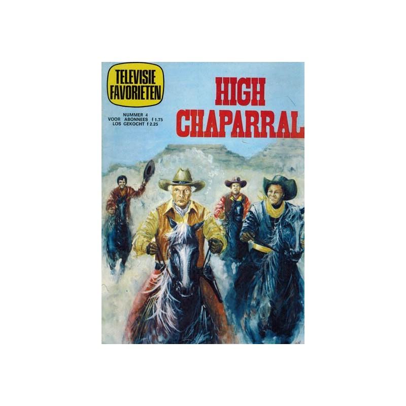 Televisie favorieten 04 High Chaparral 1e druk 1970