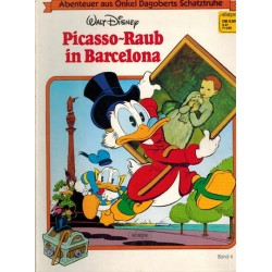 Oom Dagobert Taal Duits Abenteuer aus Onkel Dagoberts Schatztruhe 04 Picasso-Raub in Barcelone