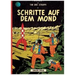 Kuifje Taal Tim und Struppi Schritte auf dem Mond (Mannen op de maan) Duitstalig
