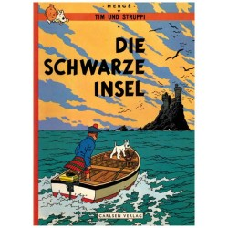 Kuifje Taal Tim und Struppi Die Schwartze Insel (De zwarte rotsen) Duitstalig