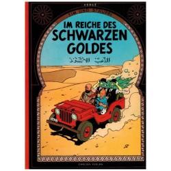 Kuifje Taal Tim und Struppi Im Reichen des Schwarzen Goldes (Het zwarte goud) Duitstalig