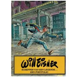 Will Eisner Schepper van een legende... HC Een portfolio 1e druk 1981 (Spirit)