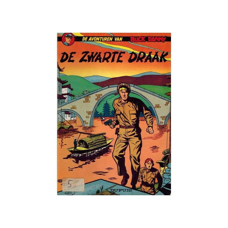 Buck Danny 05 De zwarte draak herdruk 1967
