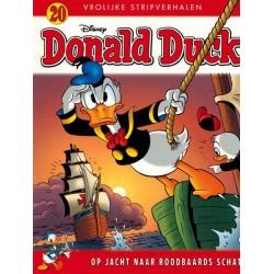 Donald Duck Vrolijke stripverhalen 20 Op jacht naar Roodbaards schat 1e druk 2017