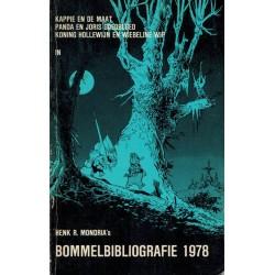 Bommelbibliografie 1978 1e druk