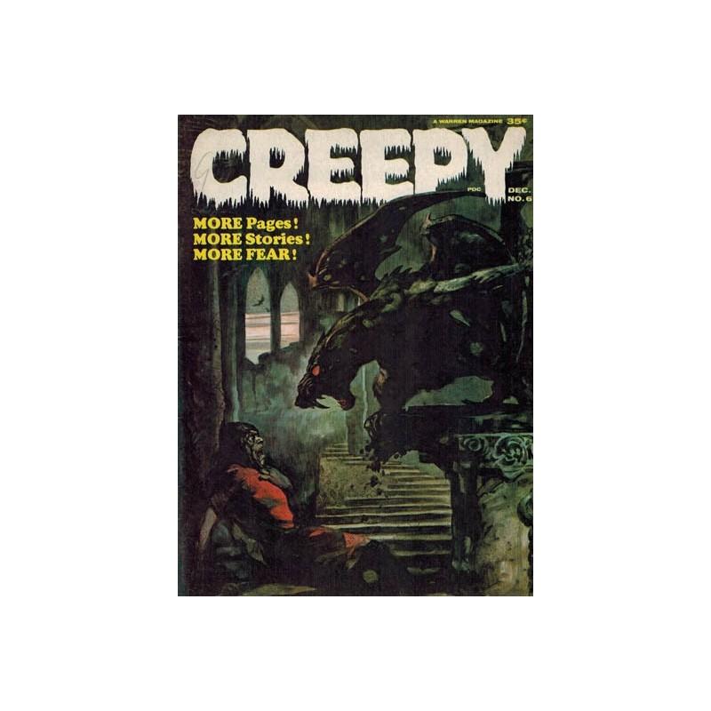 Creepy USA 006 first printing 1965