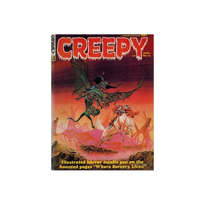 Creepy USA 014 first printing 1967