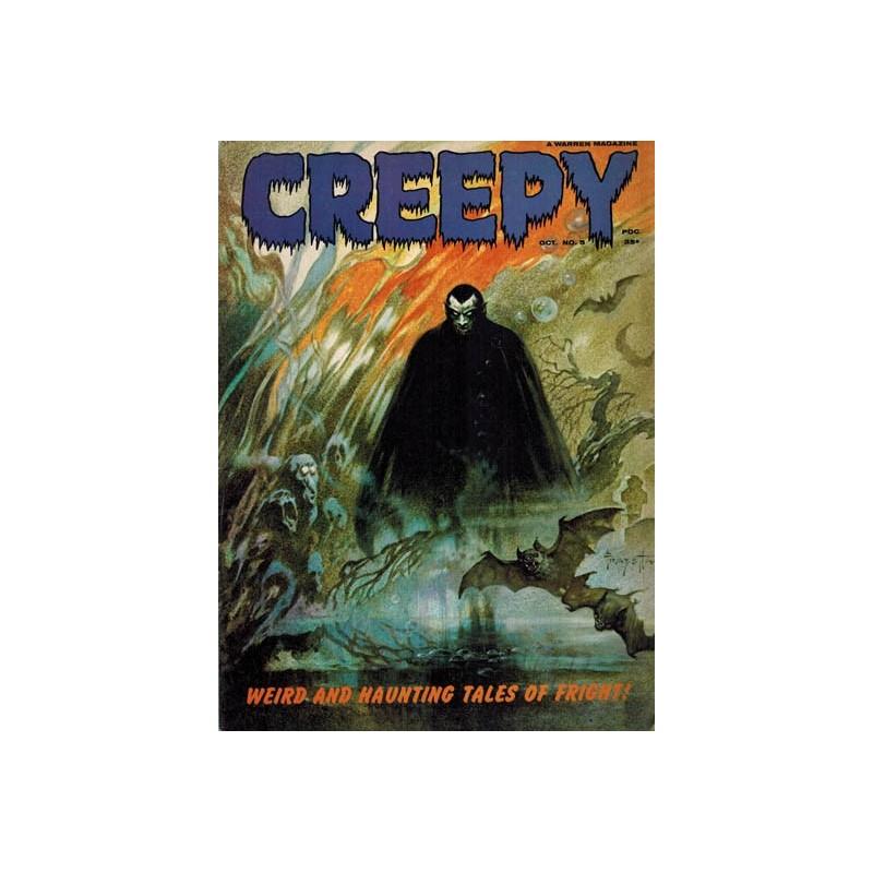Creepy USA 005 first printing 1965