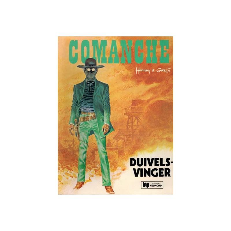 Comanche 07 Duivelsvinger 1e druk Helmond 1977