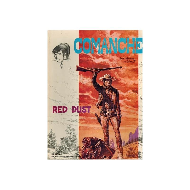 Comanche 01 Red Dust 1e druk 1972