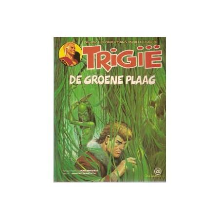 Trigie 20 De groene plaag 1e druk 1981