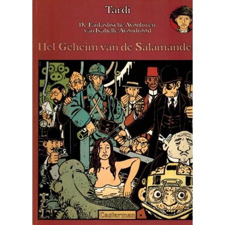 Isabelle Avondrood 05 Het geheim van de salamander 1e druk 1981