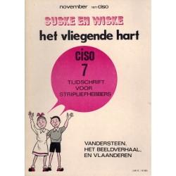 Ciso 07 Suske & Wiske Het vliegende hart 1e druk 1971