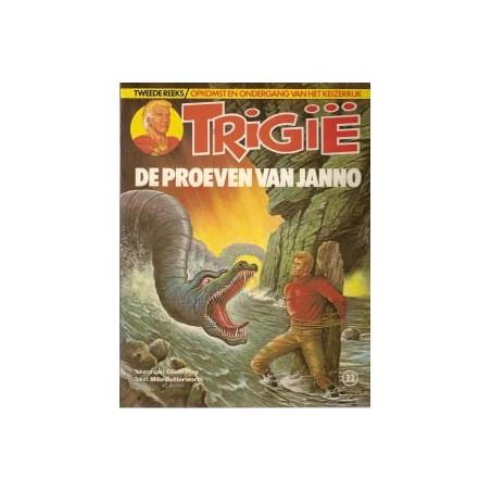 Trigie 22 De proeven van janno 1e druk 1982