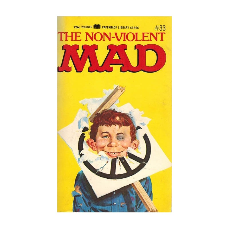 Mad pocket 33 The non-violent MAD first printing 1972