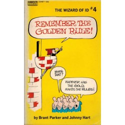 Wizard of Id pocket 04 Remember the golden rule first printing 1971