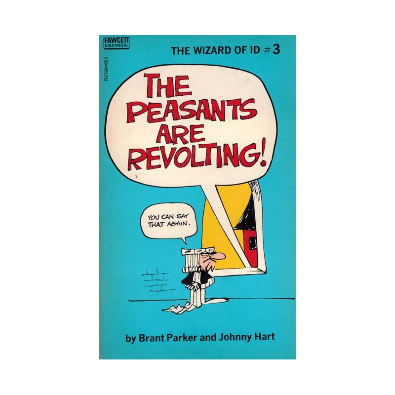 Wizard of Id pocket 03 The peasants are revolting! first printing 1971