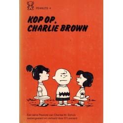Peanuts Zwarte beertjes pocket 04 Kop op, Charlie Brown! 1e druk 1971
