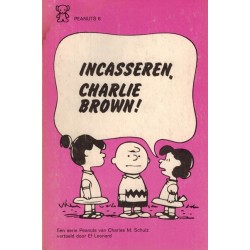 Peanuts Zwarte beertjes pocket 06 Incasseren, Charlie Brown! 1e druk 1971