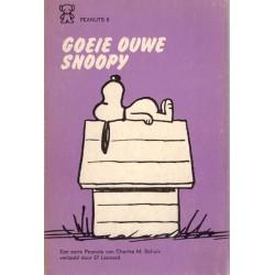 Peanuts Zwarte beertjes pocket 08 Goeie ouwe Snoopy 1e druk 1971