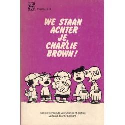 Peanuts Zwarte beertjes pocket 09 We staan achter je, Charlie Brown! 1e druk 1974
