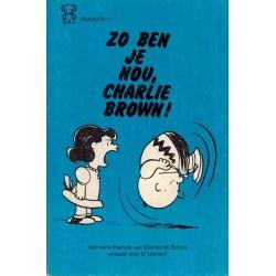 Peanuts Zwarte beertjes pocket 11 Zo ben je nou, Charlie Brown! 1e druk 1974