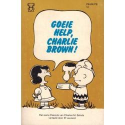 Peanuts Zwarte beertjes pocket 12 Goeie help, Charlie Brown! 1e druk 1974
