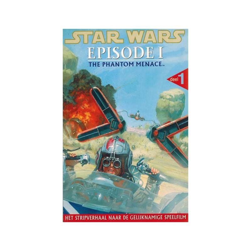 Star Wars NL set Episode I & Episode II 1e druk 1999