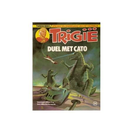 Trigie 24 Duel met cato 1e druk 1982