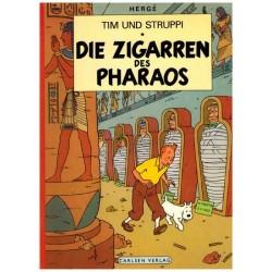 Kuifje Taal Tim und Struppi Die Zigarren des Pharaos (De sigaren van de farao) Duitstalig