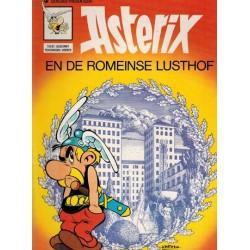 Asterix 18% De Romeinse lusthof herdruk Dargaud, nieuwe voorkant 1991