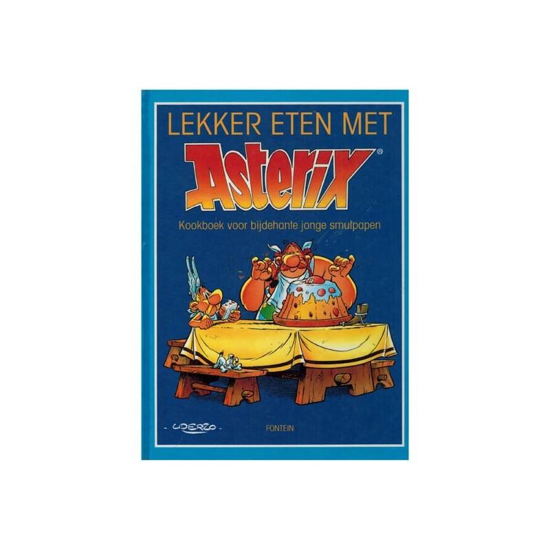 Asterix HC Lekker eten met Asterix Kookboek voor bijdehante jonge smulpapen 1e druk 1994