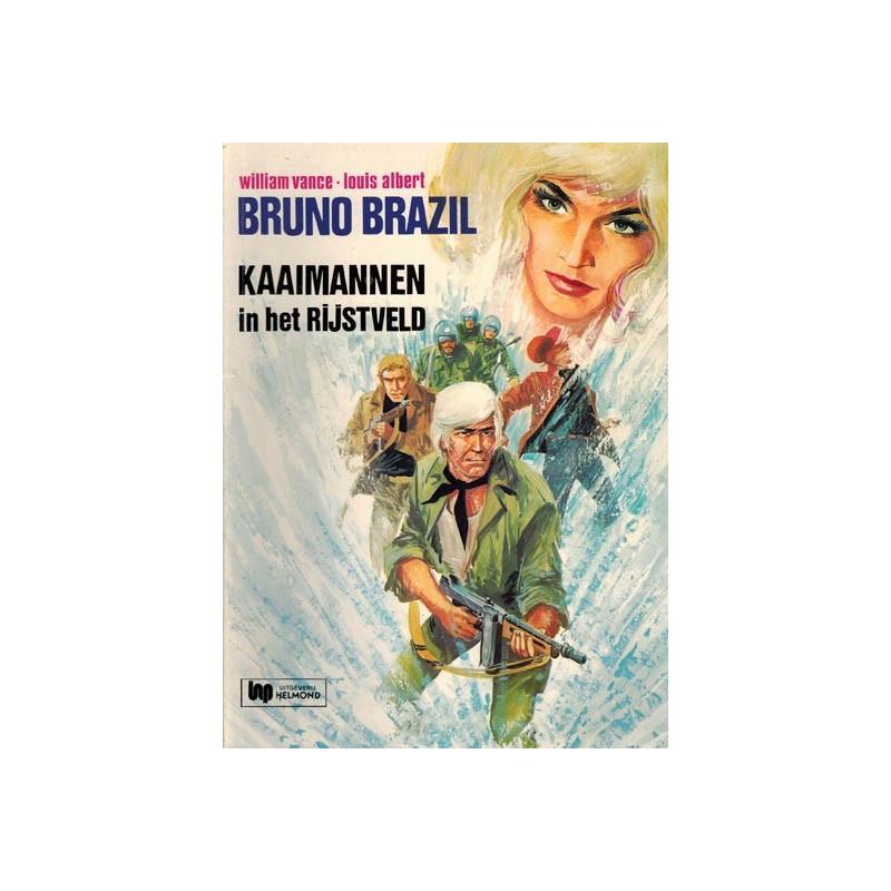Bruno Brazil 07 Kaaimannen in het rijstveld herdruk Helmond