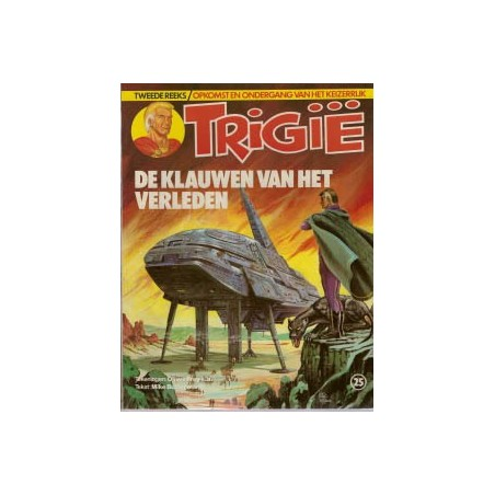 Trigie 25 De klauwen van het verleden 1e druk 1983