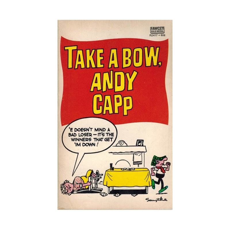 Andy Capp pocket USA 08 Take a bow, Andy Capp first printing 1968
