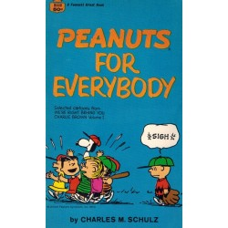 Peanuts pocket USA 24 Peanuts for everybody first printing 1970 (Snoopy)