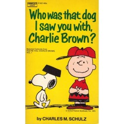 Peanuts pocket USA 38 Who was that dog I saw you with, Charlie Brown? First printing 1972 (Snoopy)