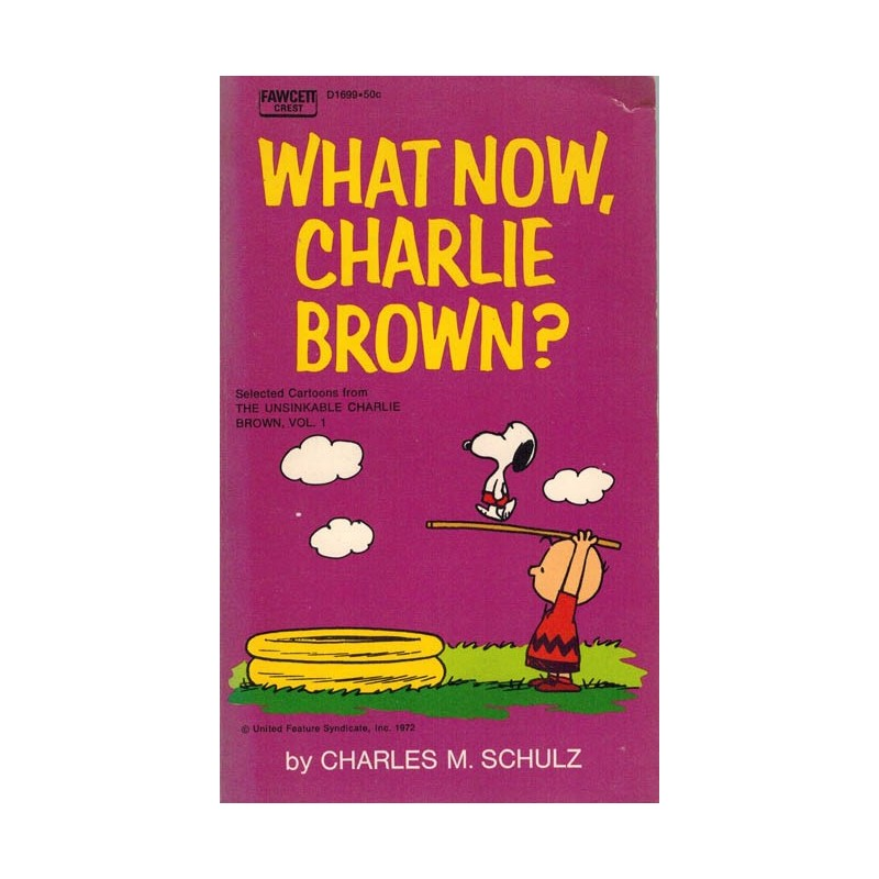 Peanuts pocket USA 32 What now, Charlie Brown? first printing 1972 (Snoopy)