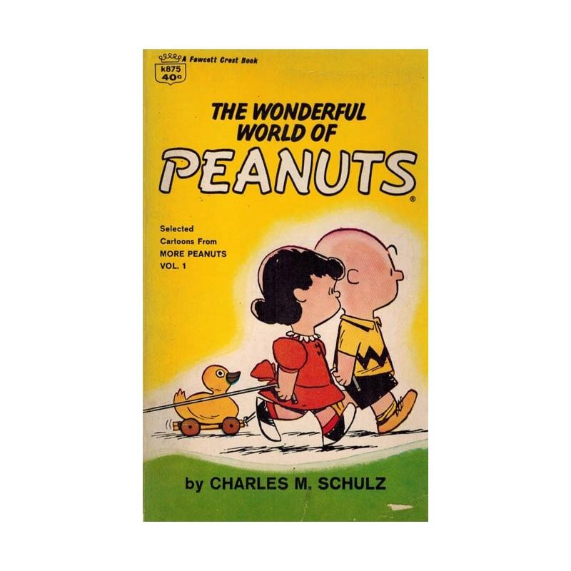 Peanuts pocket USA 01 The wonderful world of Peanuts reprint (Snoopy)